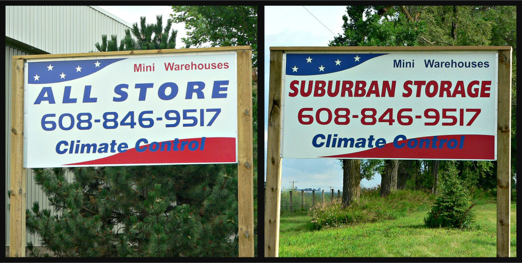 All Store & Suburban Storage Outdoor Signage